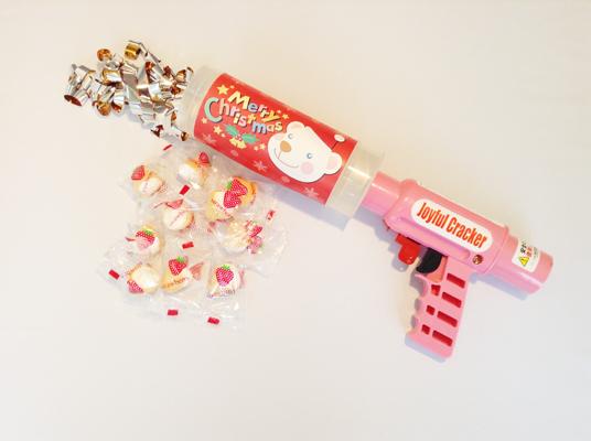 【期間限定】クリスマス柄ジョイフルクラッカー2種類発売中!