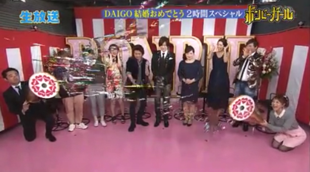 DAIGOさん北川景子さんご結婚おめでとうございます!!byジョイフルクラッカー